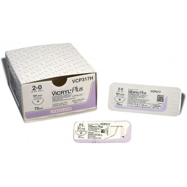 Купить Рассасывающийся полифиламентный шовный материал Vicryl Plus 0 в Минске, самовывоз, курьерская доставка, отправка почтой по Беларуси